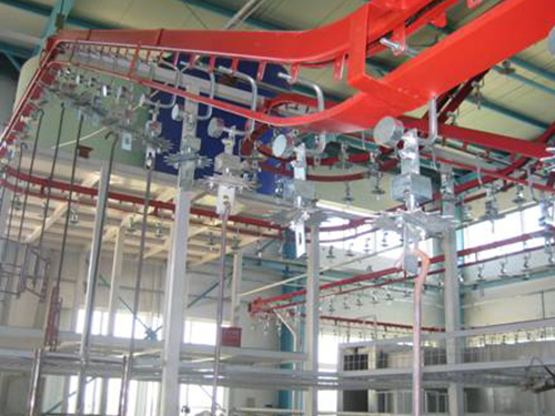 Hardware suspension conveyer