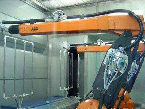 汽车车灯机器人自动喷涂设备