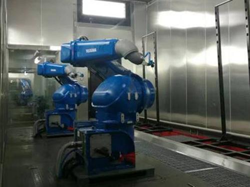 外饰件机器人喷涂设备