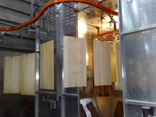 木器面板喷涂设备