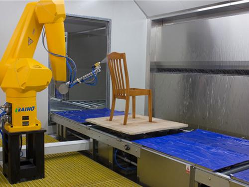 机器人家具喷涂设