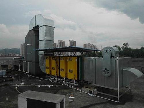 箱式喷淋三级漆雾处理设备
