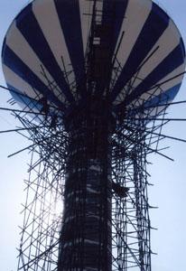 新建伞型水塔工程