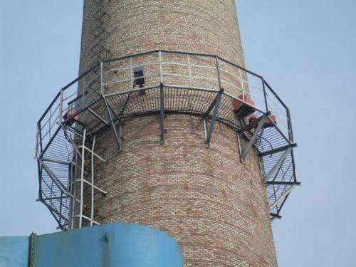 烟囱避雷针安装