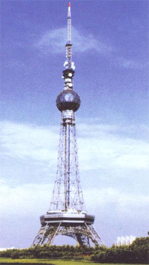 电视塔架油漆安装