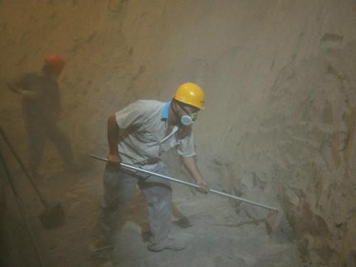 水泥庫清庫施工方案