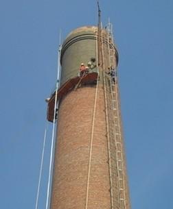 砖烟囱加固维修