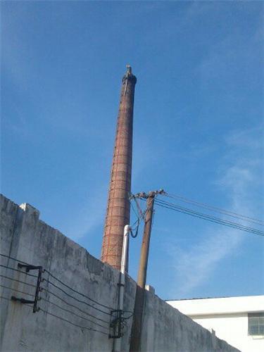 30米砖烟囱维修