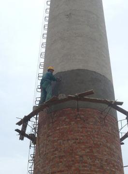 砖烟囱维修加固