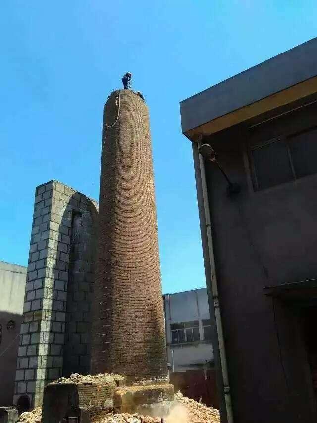 砖烟囱维修加固技术