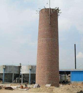 砖烟囱拆除加高方案