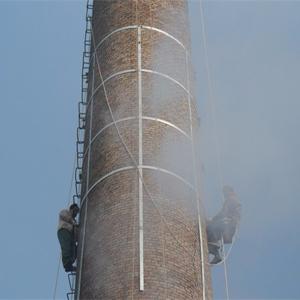 砖烟囱拆除加高加固