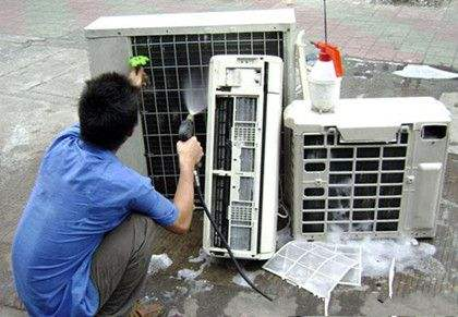汉阳美的空调保养