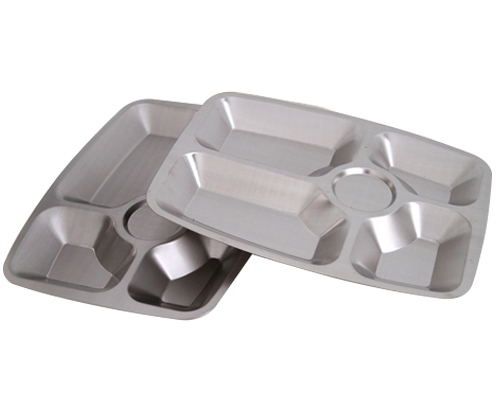 5格不锈钢分餐盘