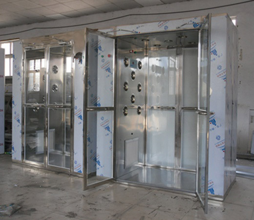 昆明净化不锈钢风淋室