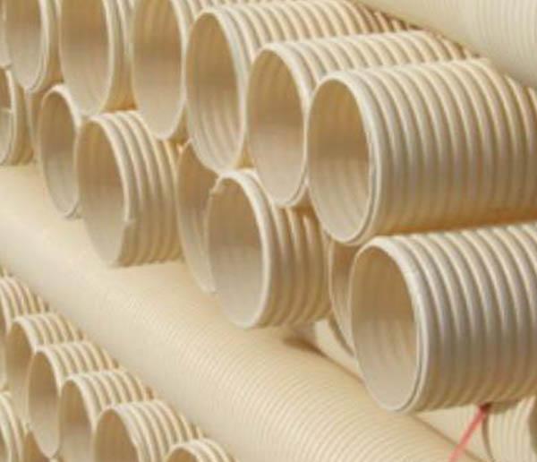 PVC白色波纹管