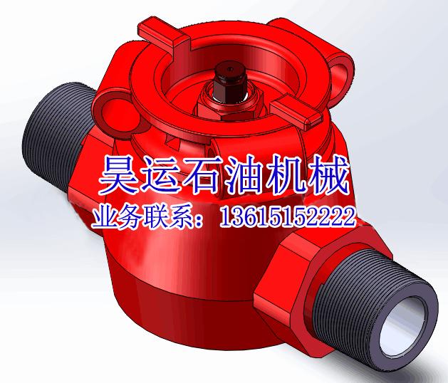 2″高压旋塞阀―外螺纹连接