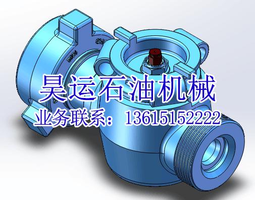 "2""140Mpa 油壬 高压旋塞阀"