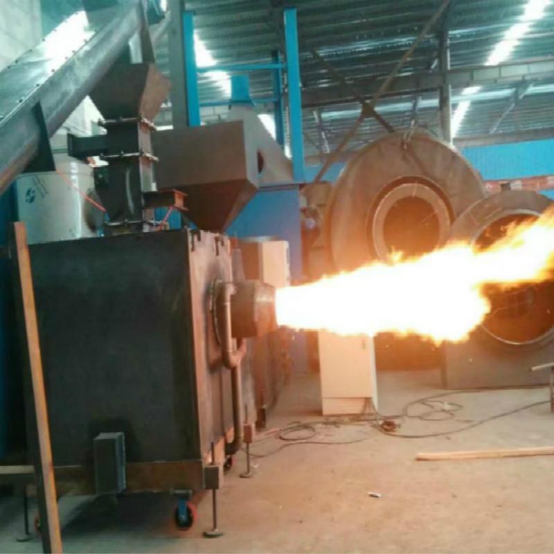 木块燃烧机