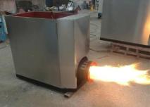 生物質燃燒機