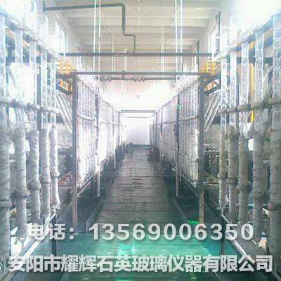天燃气加热石英玻璃硫酸提纯设备
