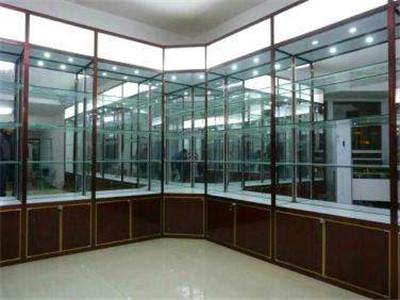 郑州钛镁合金展柜