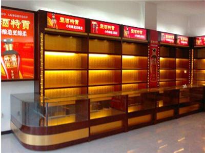 河南烟酒柜台