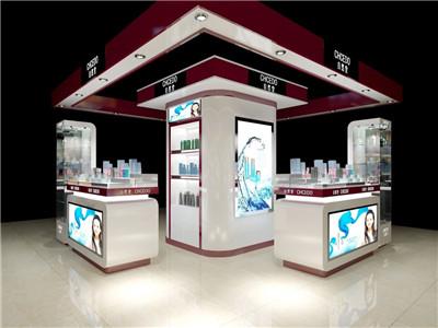 河南化妆品展示柜制作