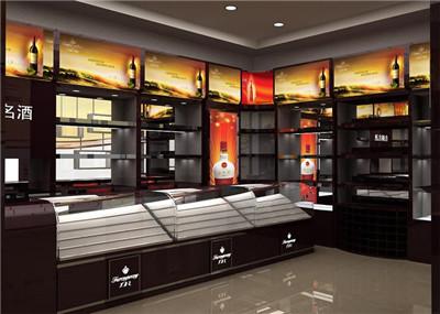 河南烟酒展柜厂家