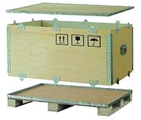 昆山钢带木箱