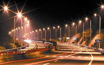 高速路路灯亮化工程