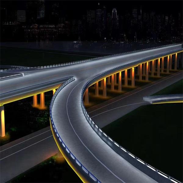 桥梁夜间亮化