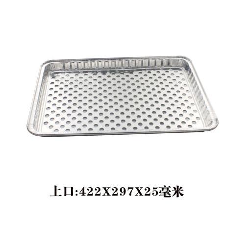方形锡纸烤鱼盘