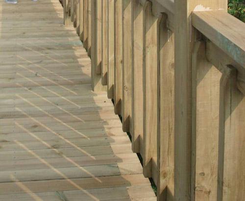 防腐木护栏厂