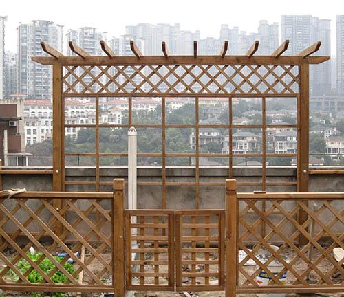 贵州防腐木廊架