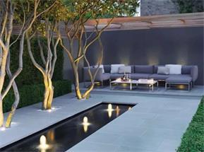 天津现代庭院设计