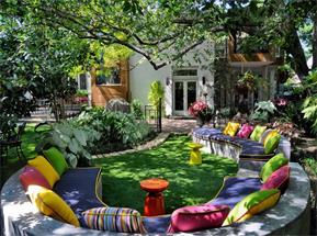 天津欧式别墅庭院设计