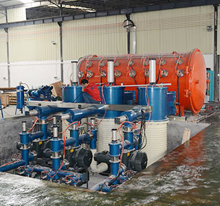 BR-53W HORIZONTAL TUBE PLATING MACHINE (Φ2100X7350)