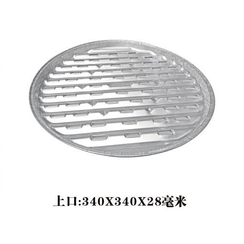 圆形烤鱼盘