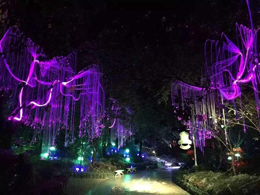 园林光纤照明灯