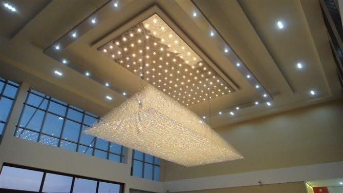 室内工程水晶灯