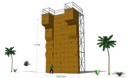 六盘水攀岩墙