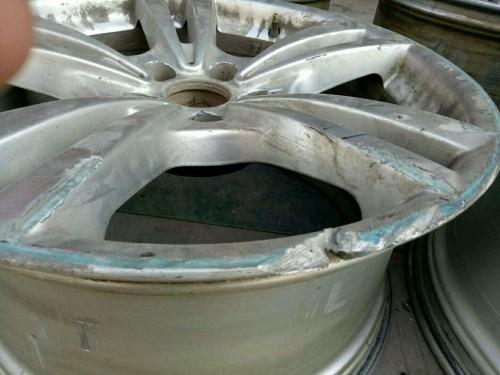 汽车轮毂磨损修复