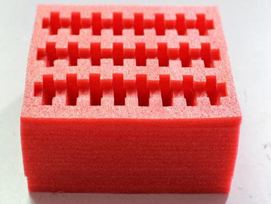 红色EPE珍珠棉异型材