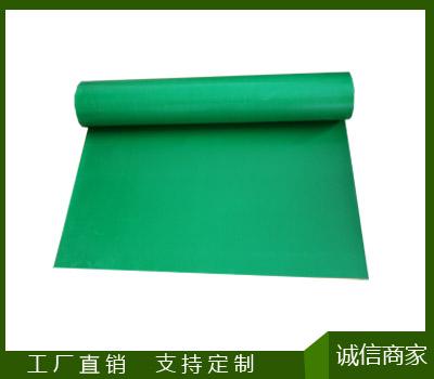 绿平绝缘橡胶板