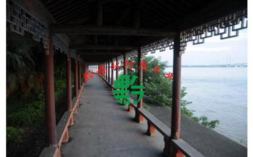 防腐木长廊工程