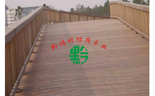 防腐木栈道工程