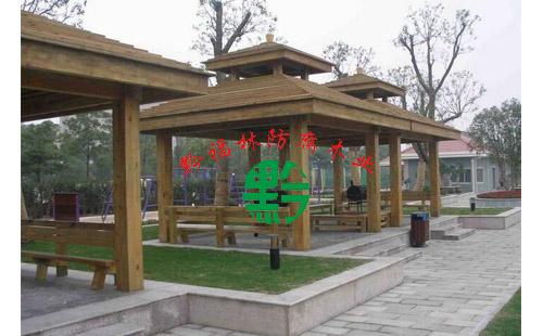 防腐木凉亭工程