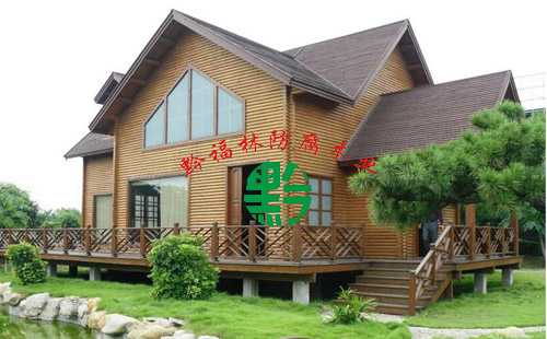 木结构房屋制作