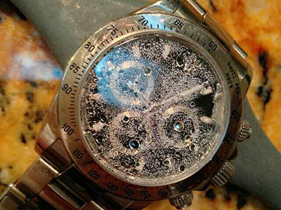 手表进水维修
